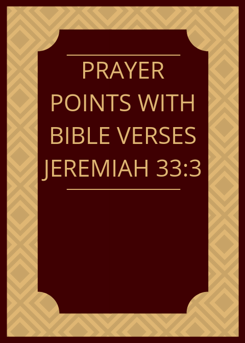 20 Prayer Points With Bible Verses | PRAYER POINTS