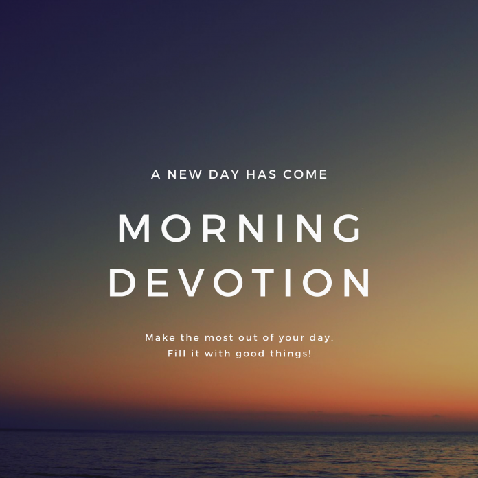 Morning Devotion