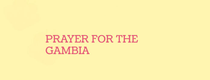 Prayer for the gambia