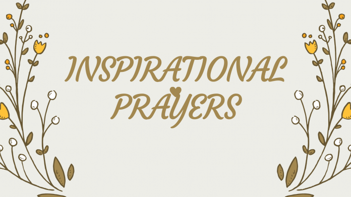 INSPIRATIONAL PRAYERS NEW