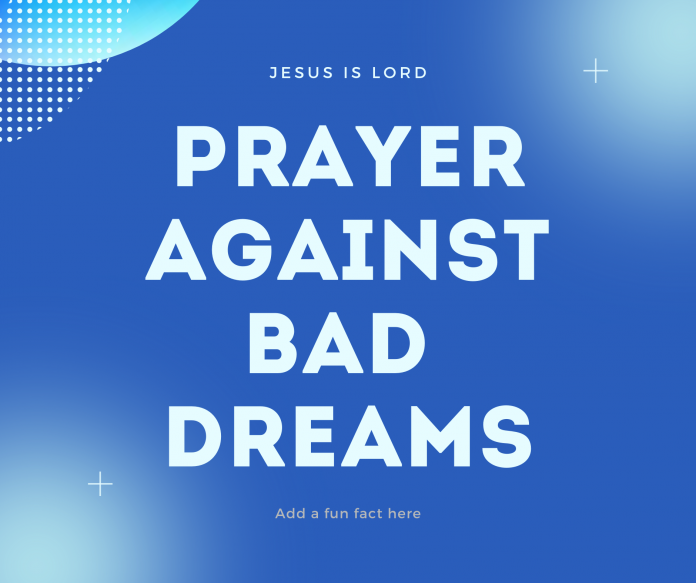 Prayer Against Bad Dreams During Pregnancy