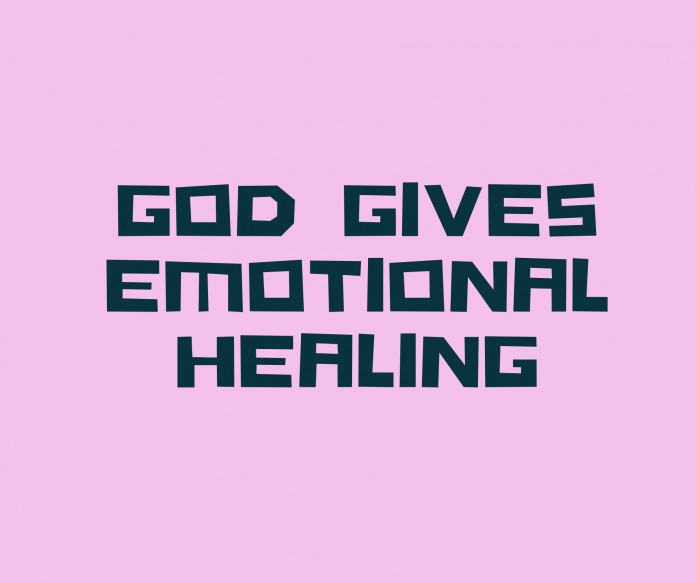 prayer for the emotional healing of a friend